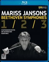 Mariss Jansons. Beethoven Symphonies 1,2 & 3. Bluray