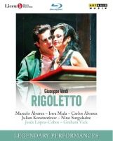 Verdi. Rigoletto. Legendary Performances. Bluray