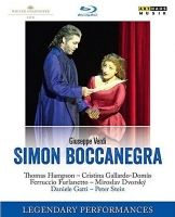 Verdi. Simon Boccanegra. Legendary Performances. Bluray