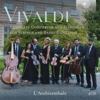 Vivaldi. Complete Concertos and Sinfonias for Strings and Basso Continuo. 4CD
