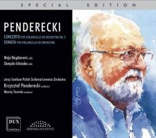 Penderecki. Cellokoncert nr. 2. Sonate for cello og orkester