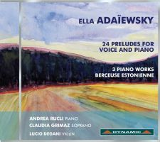 Adaïewsky: 24 Preludes for Voice and Piano